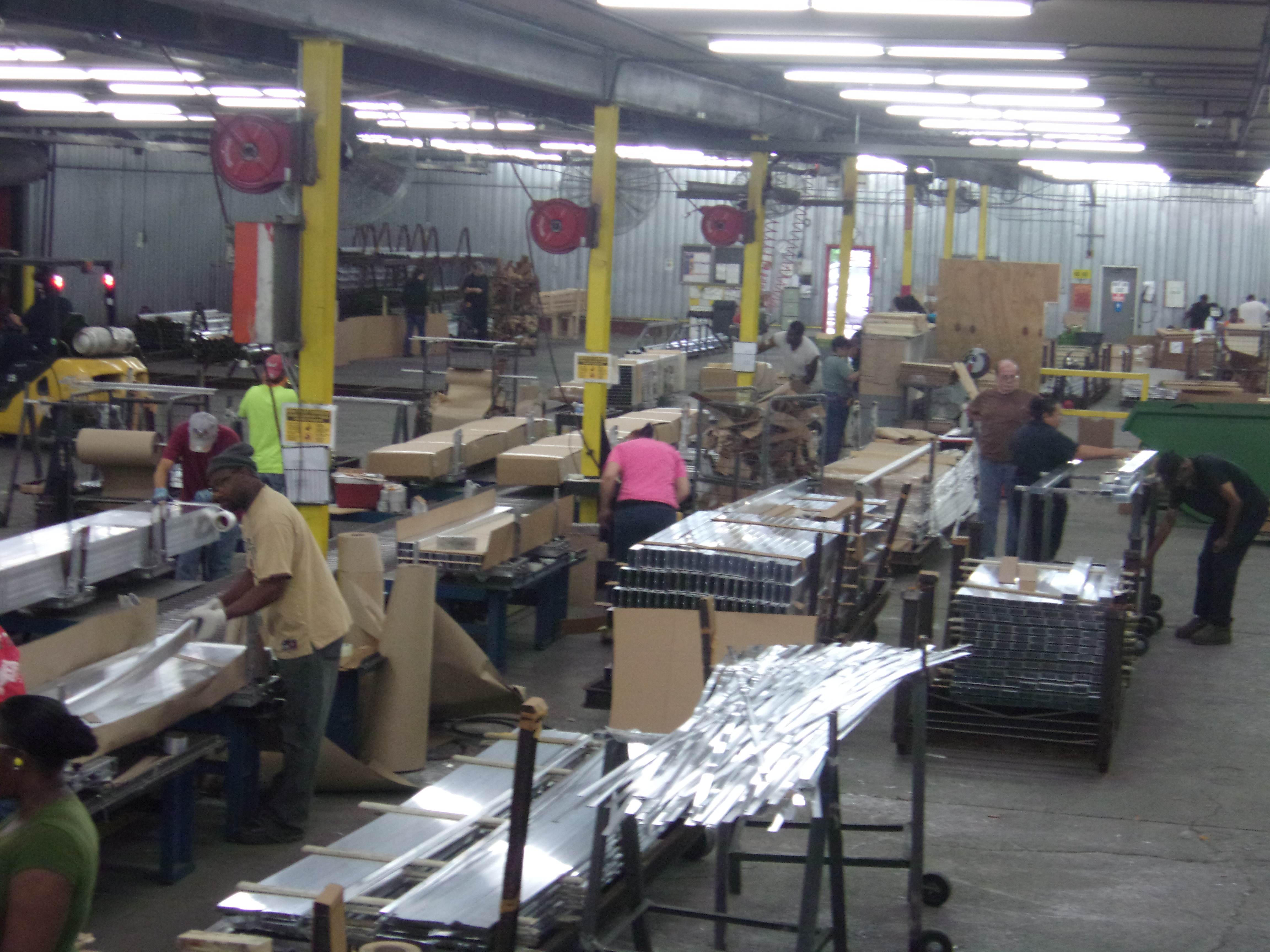 Aluminum Extrusion Packaging & Shipping